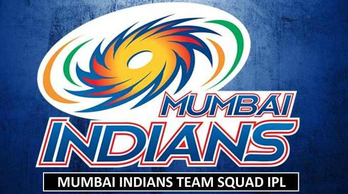 Mumbai Indians Team Squad 2018 IPL