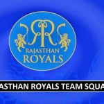 Rajasthan Royals (RR) Team Squad IPL 2018 (Players Salaries)