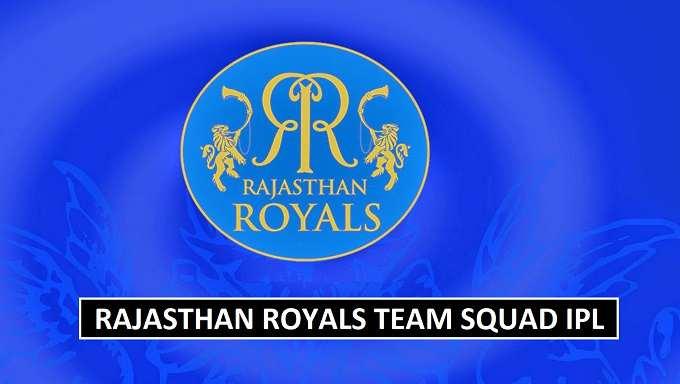Rajasthan Royals Team Squad IPL 2018
