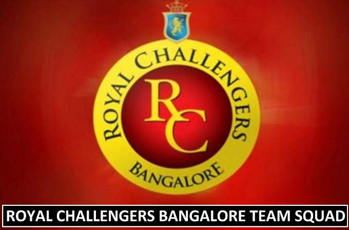 Royal Challengers Bangalore Team Squad IPL 2018