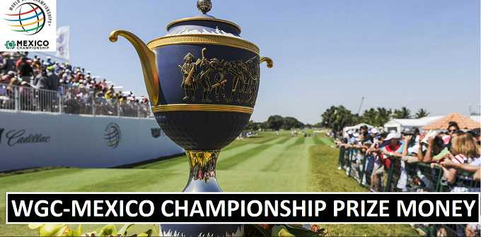 WGC-Mexico Championship 2018 Total Prize Money