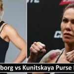 Cyborg vs Kunitskaya Purse Payout