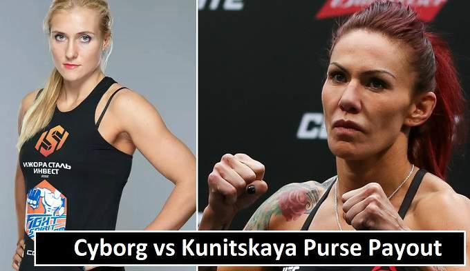 Cyborg vs Kunitskaya Purse Money 2018