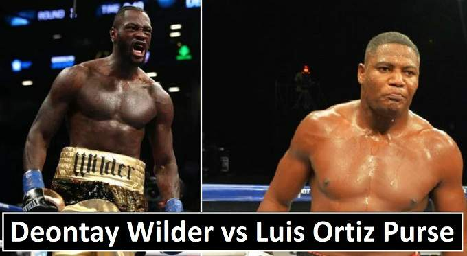 Deontay Wilder vs Luis Ortiz Purse 2018