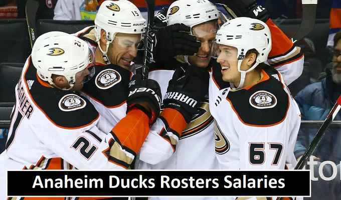 Anaheim Ducks Players Salaries