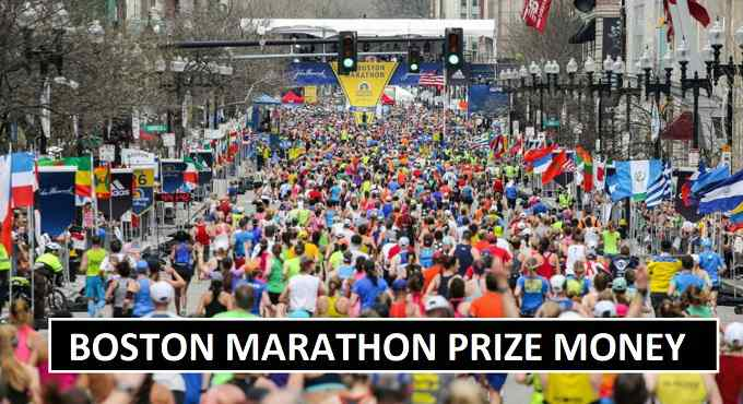 Boston Marathon Prize Money Earnings