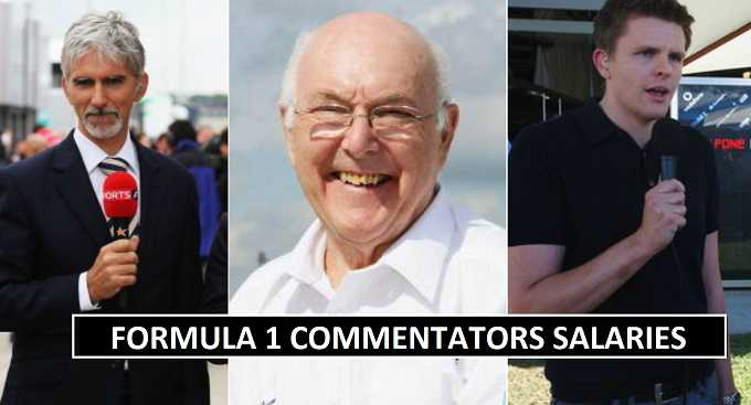 How Much F1 Analyst and Commentators Earn