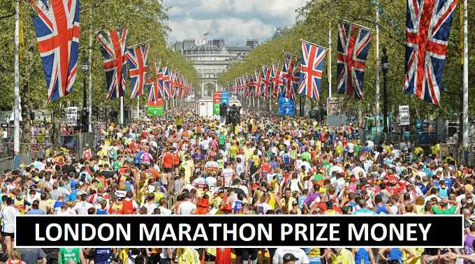 London Marathon winners prize money