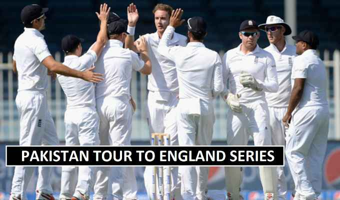Pakistan vs England Matches Schedule