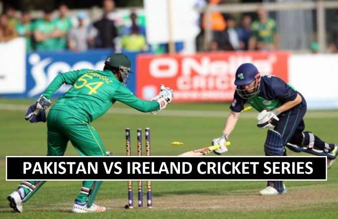 Pakistan vs Ireland Match Live