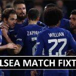 Chelsea Pre-Season 2018-19 Fixtures (Confirmed)